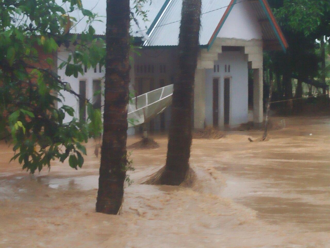 Banjir di Kabupaten Sijunjung