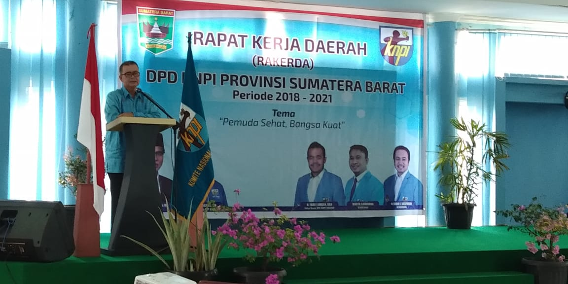 KNPI Sumbar Gelar Rapat Kerja Daerah