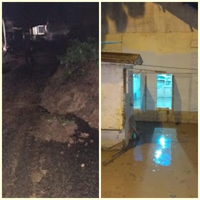 Hujan Lebat Akibatkan Banjir dan Longsor di 3 kabupaten/kota