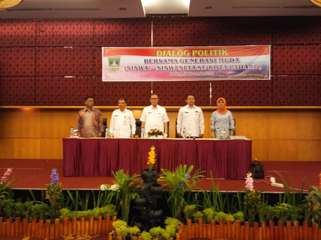 Wakil Gubernur Sumbar : Generasi Milenial Agar Gunakan Hak Pilihnya