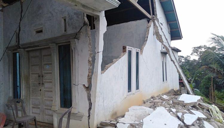 BPBD Solok Selatan : 4.127 Jiwa Terdampak Gempa