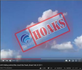 Penampakan UFO di Langit Brazil