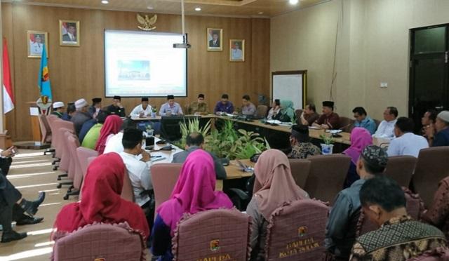 Wawako Solok Pimpin Rapat MTQ ke-38