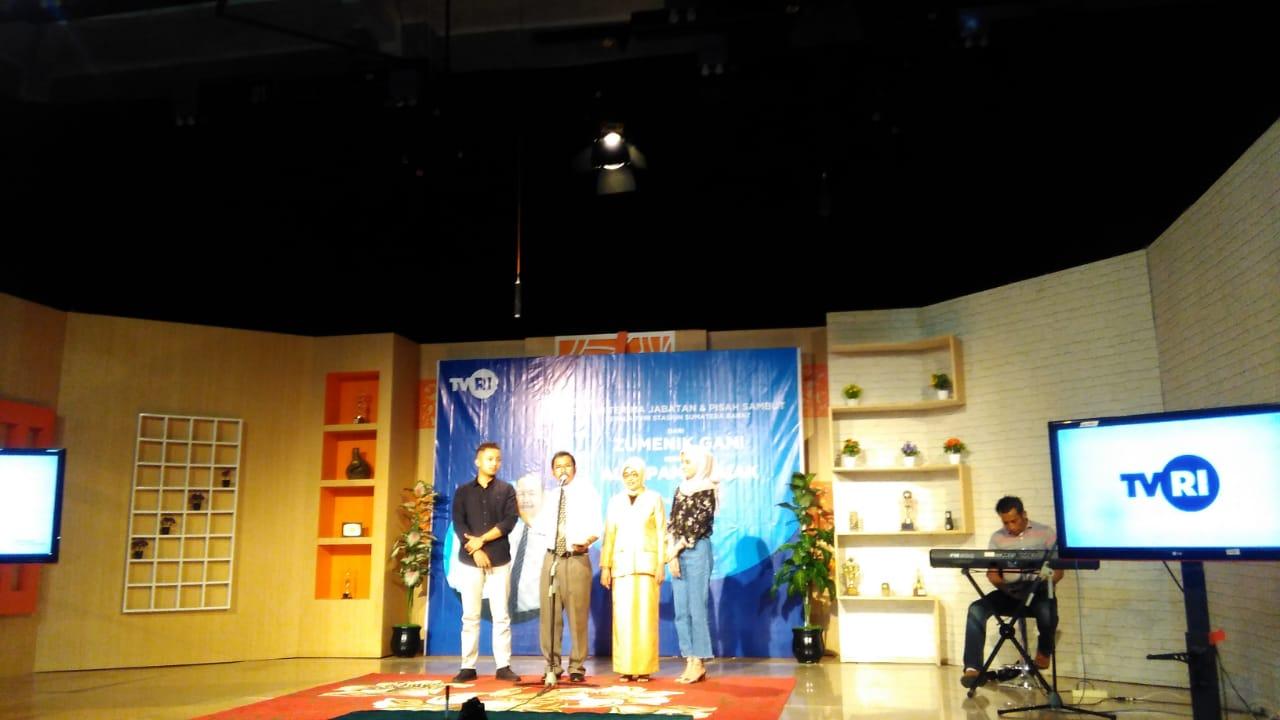 Kepala Stasiun TVRI Sumatra Barat Berganti