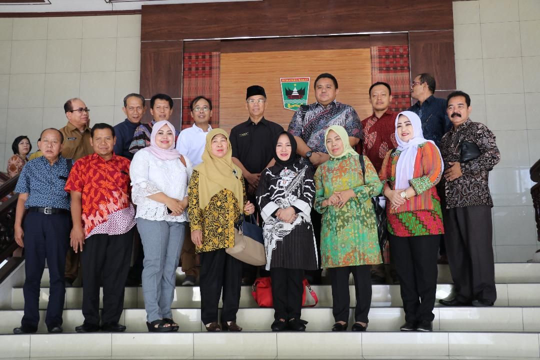 Pemprov Sumbar Menerima Kunjungan DPRD Provinsi Jawa Tengah