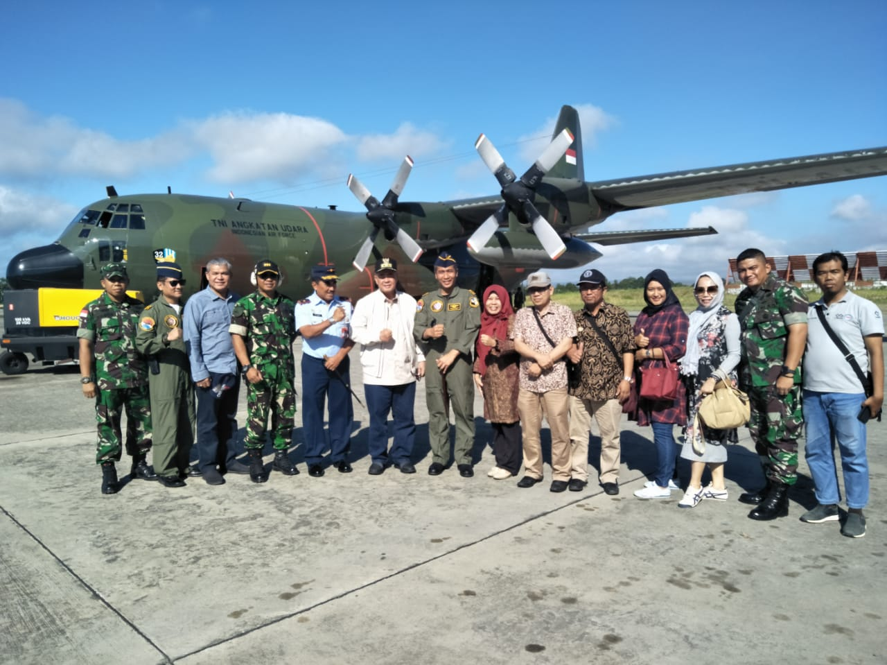 Pastikan Kondisi Perantau, Wagub Sumbar Terbang ke Wamena
