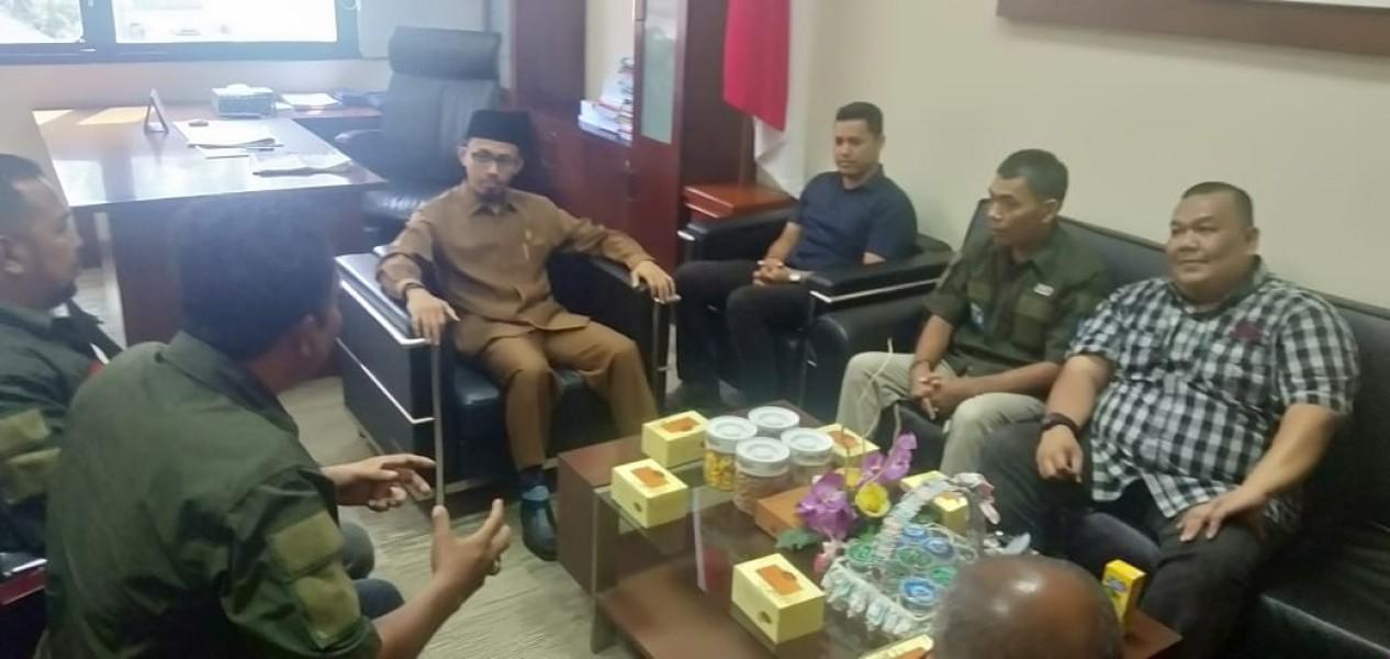 IWO Kunjungi Wakil Ketua DPRD Sumbar Irsyad Sjafar