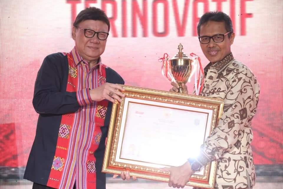 Sumatra Barat Raih Penghargaan Innovative Government Award 2019