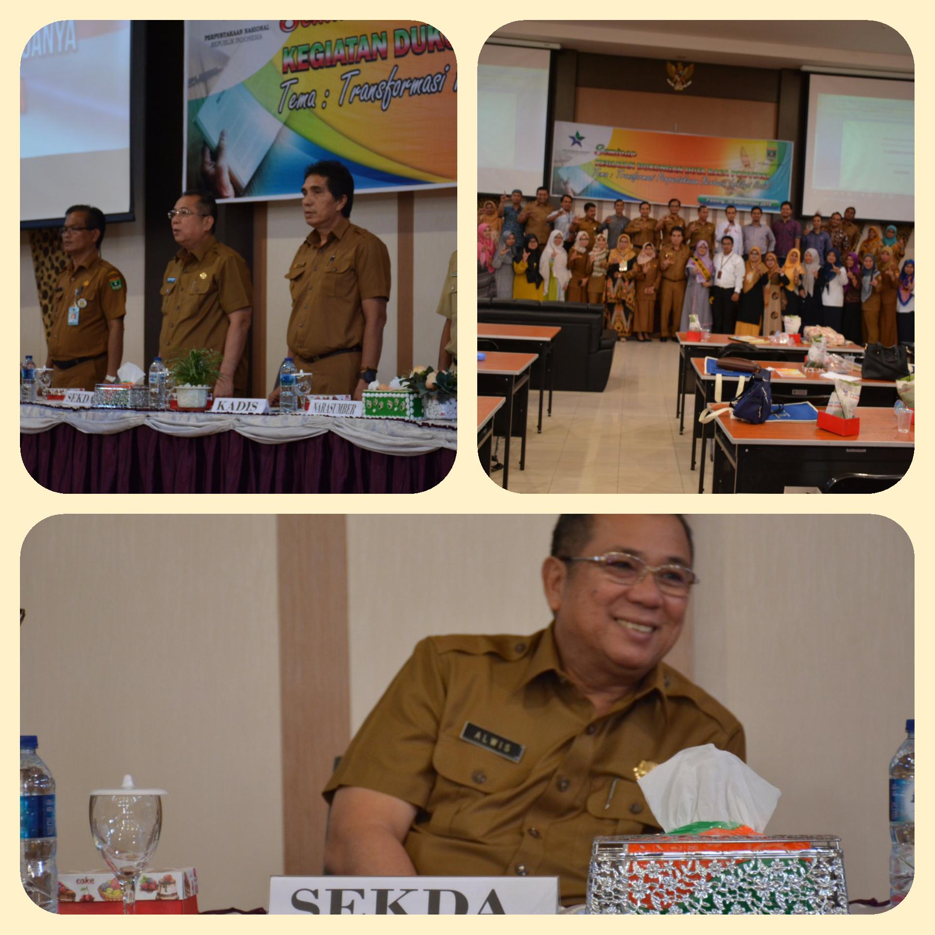 Seminar Dukungan Duta Baca Sumatera Barat Tahun 2019