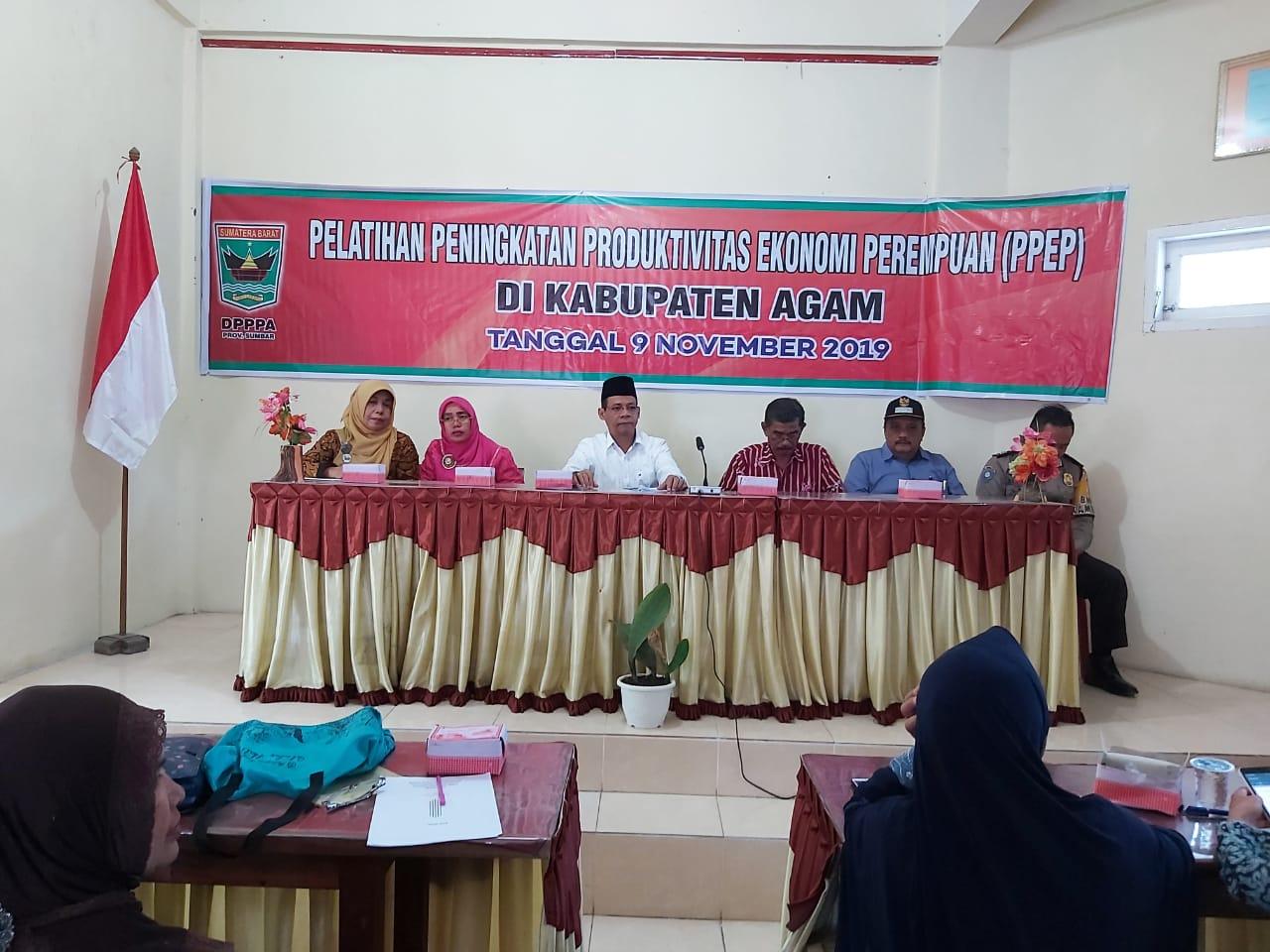 Berdayakan Perempuan dengan PPEP DPPPA Prov. Sumbar