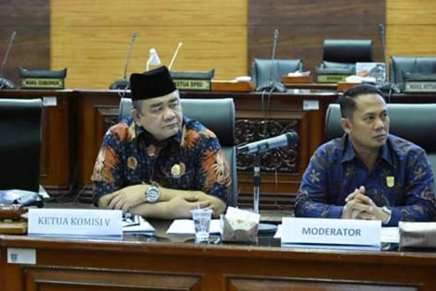 Komisi V Rampungkan Ranperda Wisata Hallal Pada Triwulan Pertama