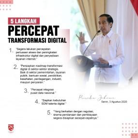 Lima Langkah Percepat Transformasi Digital
