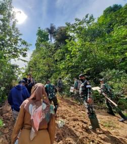 Pembukaan Pra TMMD ke-110 Sumatera Barat Tahun 2021 Dilaksanakan Serentak