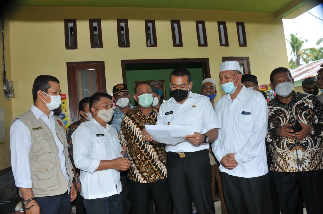 Wagub Audy Memuji Layanan Covid-19 RSUD Pasbar dan Posko Nagari