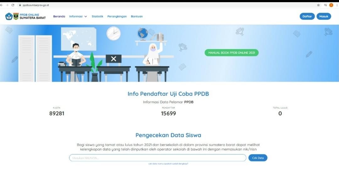 Hari Pertama Simulasi Tahap 2 PPDB Online, Pelajar Sumbar Ada yang Bingung