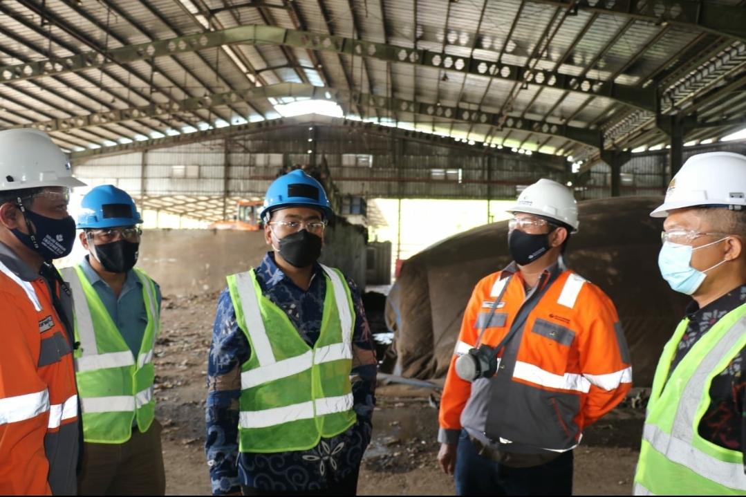 Studi Pengolahan Sampah ke Cilacap, Kemenkomarves RI Janji Kawal Percepatan RDF di Sumbar