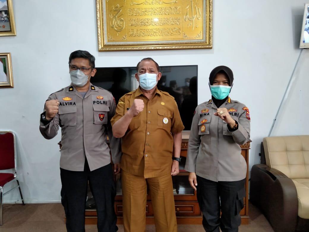 Dinas PMD Dukung Polda Sumbar Wujudkan Nagari Tageh Bidang Hukum