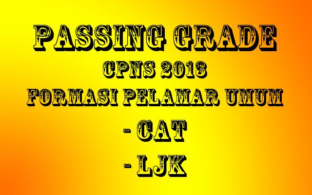 Pemerintah Tetapkan Passing Grade Tes CPNS 2013