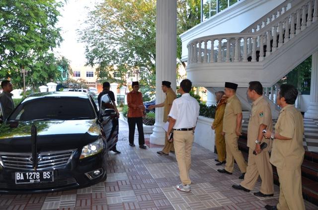 Sidak Gubernur Sumatera Barat