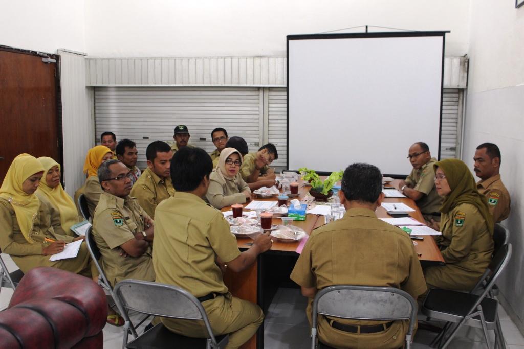 DISPORA PROV SUMATERA BARAT mengadakan Rapat Persiapan TC PEPARPELNAS